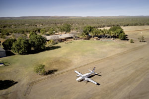 outback airport for private tour groups