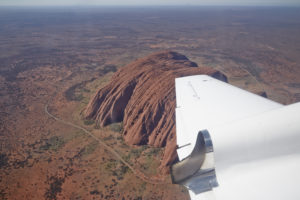 Uluru airplane tour